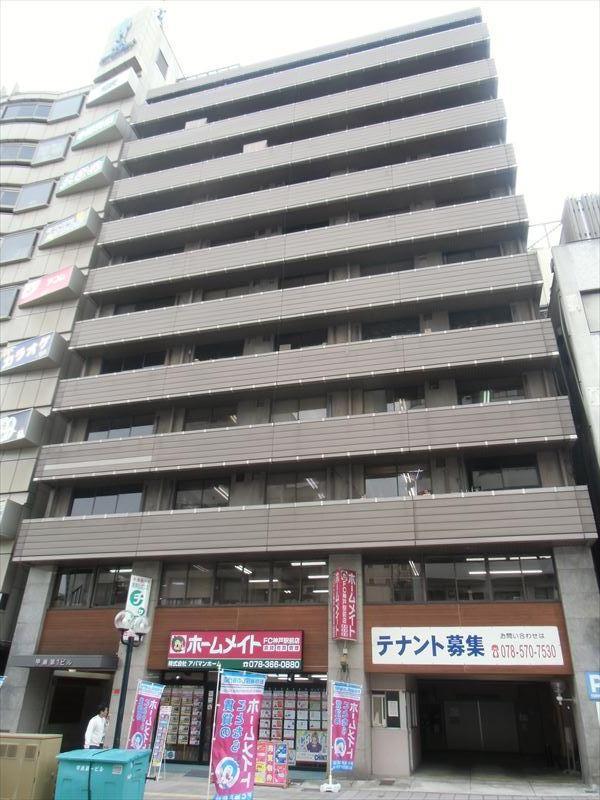 甲南第一ビル|神戸の貸事務所,賃貸オフィス 外観