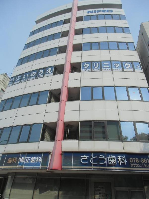 ナカヤマビル|神戸の貸事務所,賃貸オフィス 外観