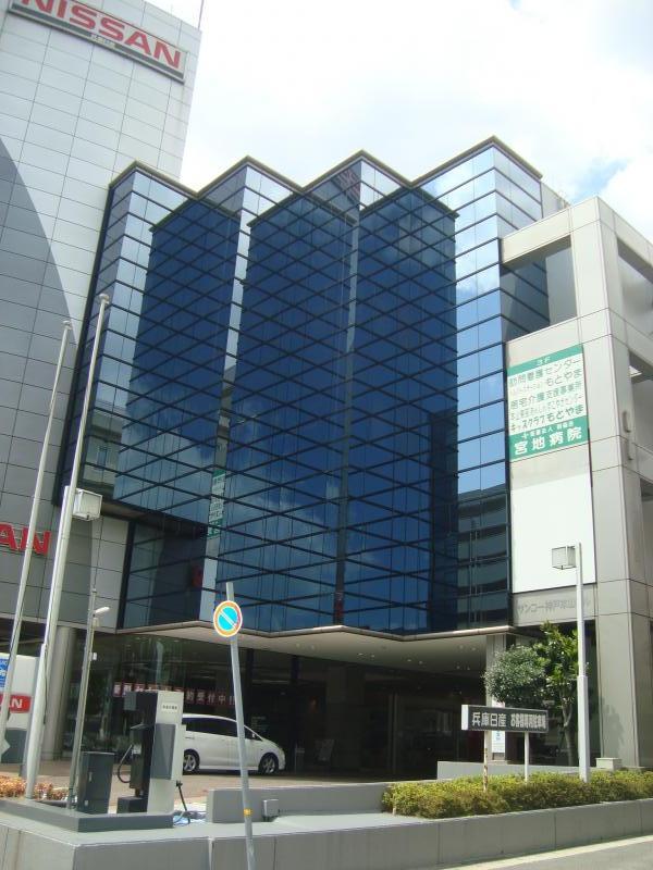 サンコー神戸本山ビル|神戸の貸事務所,賃貸オフィス 外観